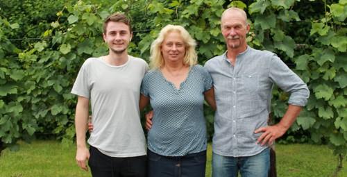 Marius, Ute und Arno Kern